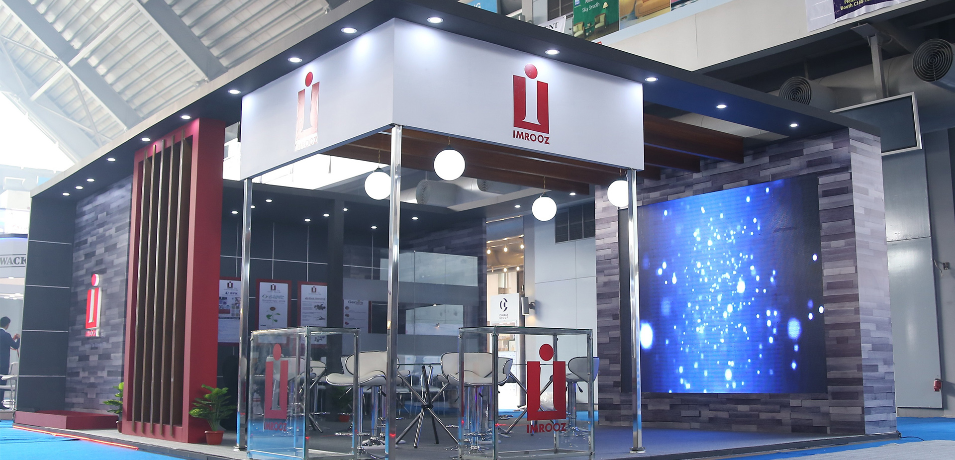 Exhibition Stall Designers In Karachi : Percept media